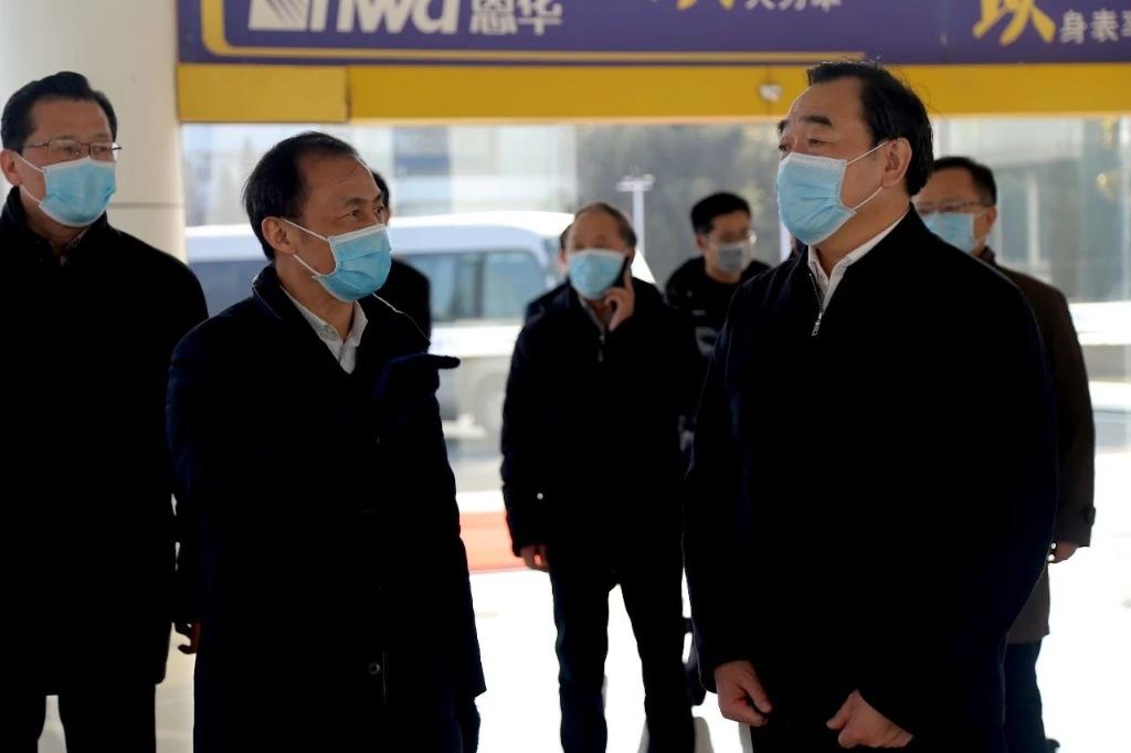 抗击疫情,恩华一直在行动  徐州市委书记周铁根莅临恩华药业调研检查疫情防控和企业复工复产